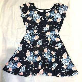 Cotton on flower dress