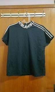 Penshoppe black tshirt