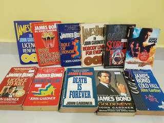 James Bond novels