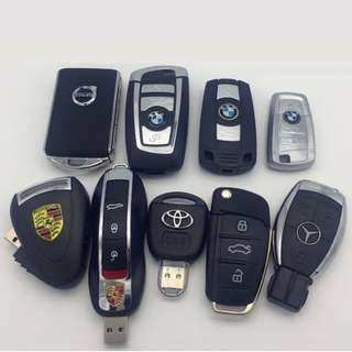 Car Key Remote Style Thumb Drive Creative Gift