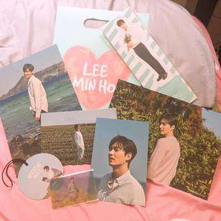Lee Min Ho innisfree's Photocard