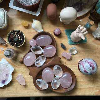 Crystal Tumbled Palmstone