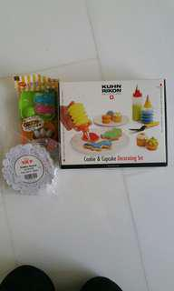Cookie&Cupcake Decorating Set, dollies and moulds