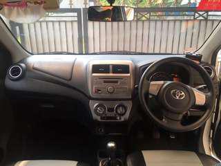 Mobil Toyota Agya 1.0 tipe G 2016