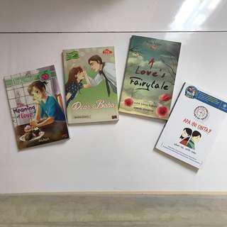 Paket 4 buku novel
