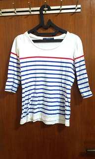 Giordano stripe shirt