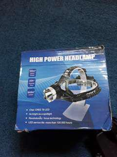High power head lamp