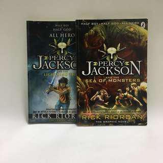 Percy Jackson Series Graphic Novel