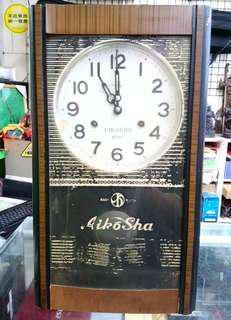 AIKOSHA 發條古董鐘老鐘掛鐘