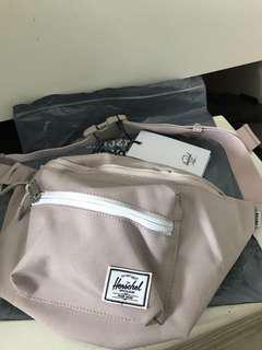 Herschel Bag x beams Dirty pink 腰包 Waist bag