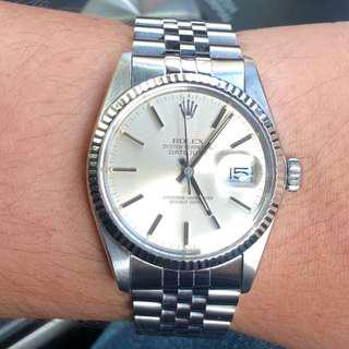 Selling Rolex Datejust 36mm 16014