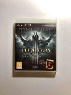 Playstation 3 (PS3) Diablo 3 Reaper of Souls Ultimate Evil Edition