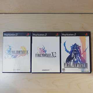 Playstation PS1 FF Final Fantasy X, X-2, XII (JP ver)