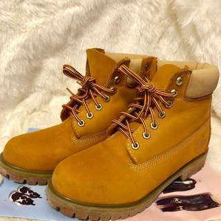 Timberland 黃靴 US9