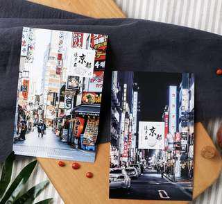 (PO) A Walk in Kyoto Postcards/ Post Cards