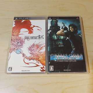 PSP Final Fantasy Type-0, Crisis Core (JP ver)