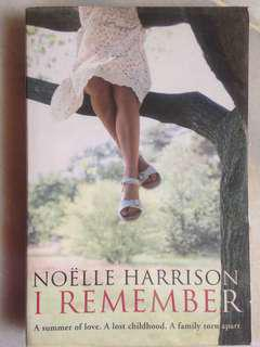I Remember by Noëlle Harrison