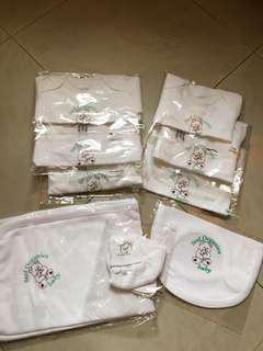 Stef Organics Unisex Baby Stuff/Clothes (Shortsleeve/Longsleeve Onesie/Bodysuit, Bib, Booties, Blanket)