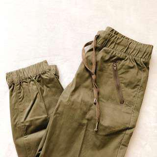 Green Jogger Pants for Women