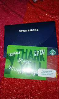 STARBUCKS CARD with 5k load