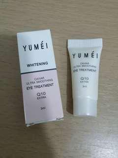 YUMEI Caviar Ultra Smoothing Eye Treatment Q10 Extra激活鱘魚子修護眼部精華
