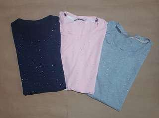 Sparkling Casual T-Shirts