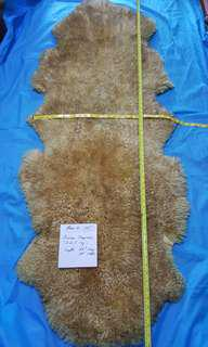 Sheepskin rug for Baby