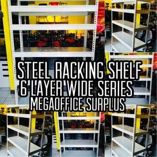 6 Layer Steel Racking Shelf Wide Series