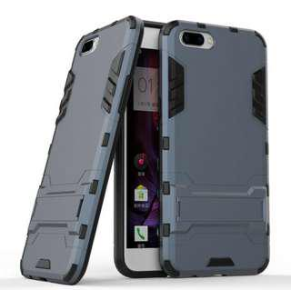 Oppo R11 Plus Hybrid Rugged PC + Silicone Back Cover Case