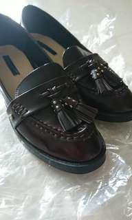Zara 37碼 深啡色紳士鞋