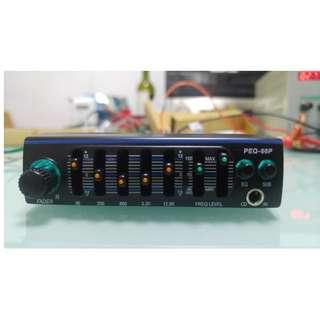 car audio EQ 4X200W o/p 全新微形EQ分音器+200W放大