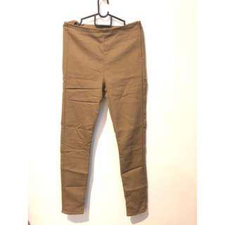 🚚 H&M Brown Skinny Pants