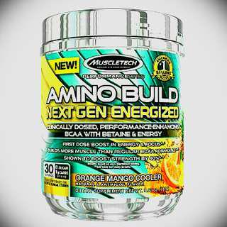 Muscletech Amino Build Next Gen Energized 280g ((price lowered last one left))