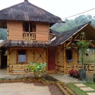 Jasape.buatan gazebo rumah villa resto cafe bambu