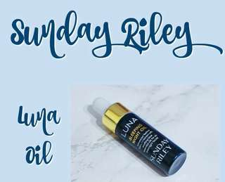 Sunday Riley luna oil 5ml
