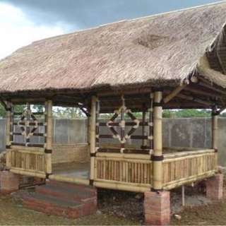 Gazebo bambu murah tukubagus
