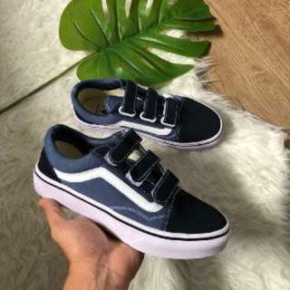 dbfdd204c6 Ready stock I Vans old skool strap navy blue