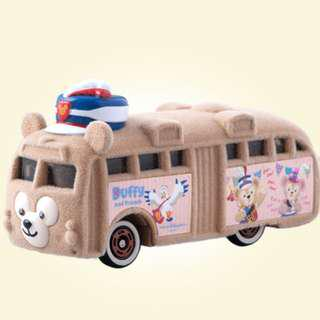 Tomica Tokyo Disney Resort Limited Diecast Model Car - Disney Vehicle Collection Duffy Bus, 35th Anniversary Collection Duffy Bus and Gelatoni Wagon MISB