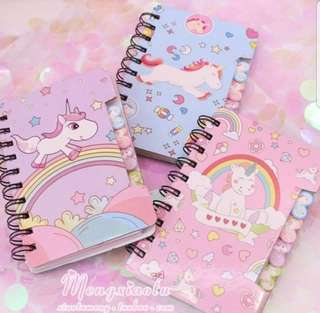 Unicorn Mini Notebook
