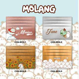 Custom Card Holder design Molang 1