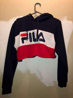 Fila cropped jumper