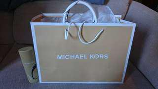 Michael Kors Optic White MD Satchel