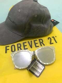 FOREVER 21 Bundle Cap & Sunglasses