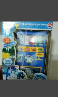 韓國雷標波力販賣機