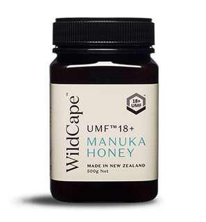Wild Cape UMF 18+ Manuka Honey New Zealand 500g