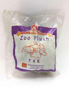 McDonald's Toy (Zoo Plush Yak)
