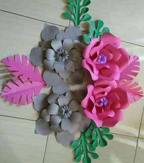 Bunga spon bahan karet