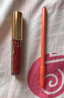 Take all 50rb lipstick kylie & pensil alis viva ori