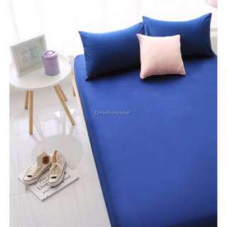 Selling Fitted Sheet Set Single in Blue