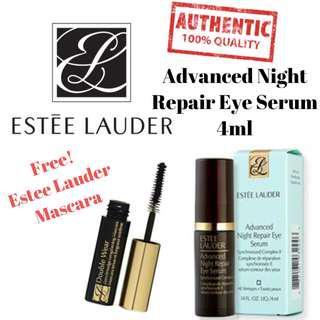 Estee Lauder Advanced Night Repair Eye Serum Synchronized Complex II With Free Estee Lauder Mascara